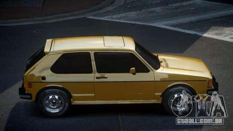 Volkswagen Rabbit GS para GTA 4