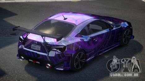Subaru BRZ SP-U S3 para GTA 4