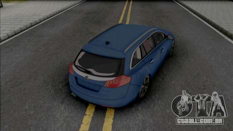 Opel Insignia Wagon Blue para GTA San Andreas