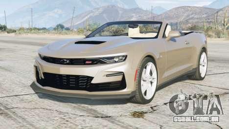 Chevrolet Camaro SS Conversível 2020〡add-on