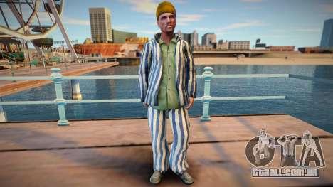 Criminoso russo em manto de prisão para GTA San Andreas