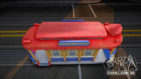 Mario Kart 8 Tram M para GTA San Andreas