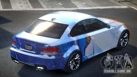 BMW 1M E82 SP Drift S2 para GTA 4