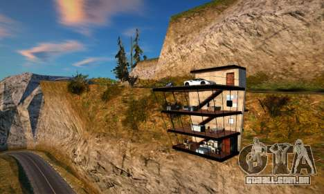 A Casa do Penhasco para GTA San Andreas