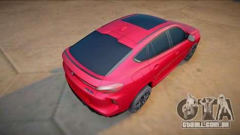 BMW X6M Competition 2020 (good model) para GTA San Andreas