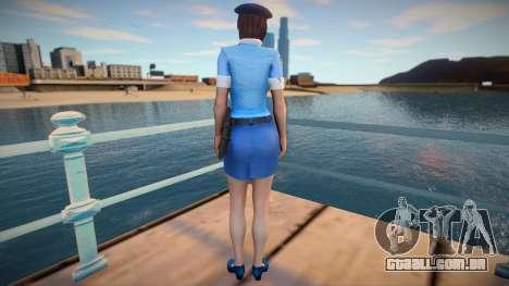Jill Police para GTA San Andreas