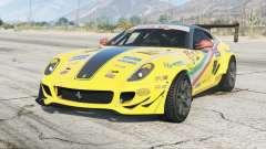Ferrari 599 GTB Fiorano 2007〡Formula Drift para GTA 5