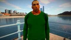 CJ 2015: Pré-visualização de pele (Estilo Grove) para GTA San Andreas
