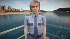Rita Phillips RPD - Resident Evil Outbreak para GTA San Andreas