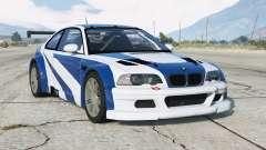 BMW M3 GTR (E46) Most Wanted v2.2 para GTA 5