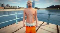Latinos em roupas de prisão para GTA San Andreas