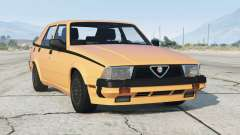 Alfa Romeo Milano Quadrifoglio Verde 1992〡add-on v1.1 para GTA 5