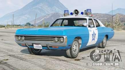 Dodge Polara (DE) 1971〡Chicago Polícia〡add-on [ELS] para GTA 5