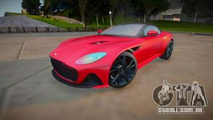 Aston Martin DBS Superleggera Volante 2019 para GTA San Andreas