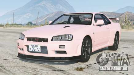 Nissan Skyline GT-R V-spec II (BNR34) 2000〡add-on v1.6.1a para GTA 5