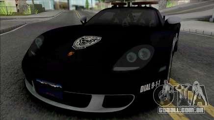 Porsche Carrera GT 2004 Police para GTA San Andreas