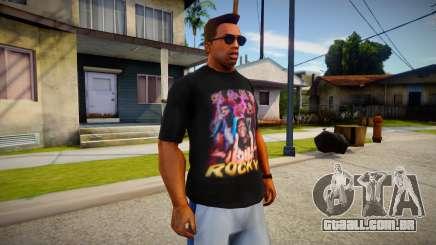 ASAP Rocky T-Shirt para GTA San Andreas
