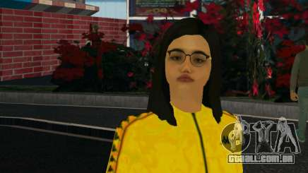 Garota fofa Mika para GTA San Andreas
