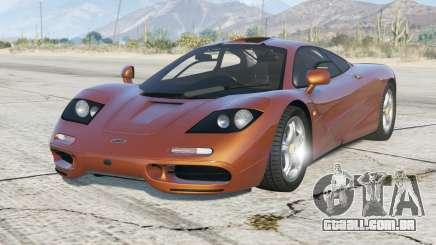 McLaren F1 1993〡add-on para GTA 5