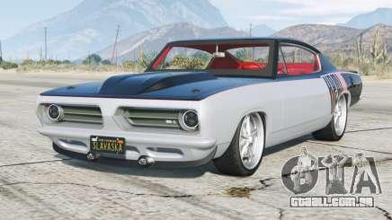 Plymouth Barracuda Fórmula S Hemi-S 1968〡add-on para GTA 5