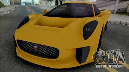 Jaguar C-X75 (SA Light) para GTA San Andreas