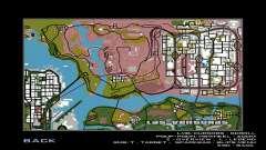Novo mapa do jogo para GTA San Andreas
