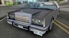 Lincoln Town Car 1986 Grey para GTA San Andreas