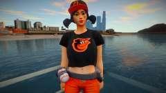 Fortnite - Fastball Fashion Casual V2 Orioles Ba para GTA San Andreas