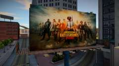 Pubg Mobile Billboard para GTA San Andreas
