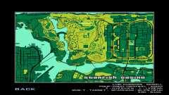 MAPA no estilo de MTN DEW para GTA San Andreas
