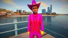 Lil Nas X para GTA San Andreas