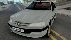 Peugeot Pars [ADB IVF VehFuncs] para GTA San Andreas