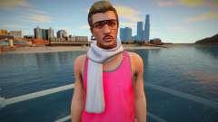 Hipster em uma camiseta rosa de GTA Online para GTA San Andreas