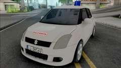 Suzuki Swift Driving School para GTA San Andreas