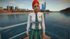 Linda garota de saia para GTA San Andreas