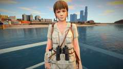 Dead Or Alive 5 - Hitomi (Costume 5) v7 para GTA San Andreas