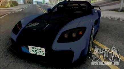 Mazda RX-7 VeilSide Fortune Blue para GTA San Andreas