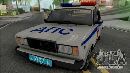 VAZ-2107 SB DPS para GTA San Andreas