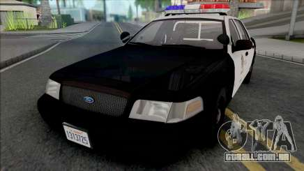 Ford Crown Victoria 2000 CVPI LAPD (Vista Light) para GTA San Andreas