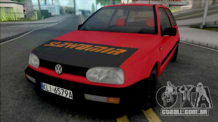 Volkswagen Golf III Slawomir para GTA San Andreas