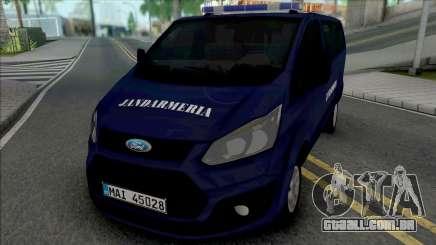 Ford Transit Lite Jandarmeria Romana para GTA San Andreas