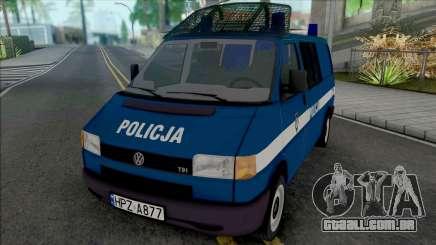 Volkswagen Transporter (T4) Policja KSP para GTA San Andreas