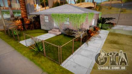 Ganton House Retexture para GTA San Andreas