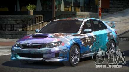 Subaru Impreza GST-R S5 para GTA 4