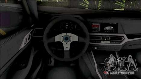 BMW M4 Competition 2021 Tuned para GTA San Andreas