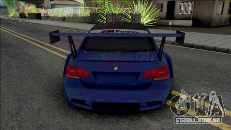 BMW M3 GT2 2009 para GTA San Andreas