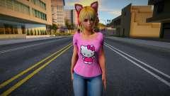 Lucky Chloe Kawai Custom - Hello Kitty para GTA San Andreas