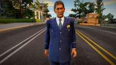 Horinouchi Police from Yakuza para GTA San Andreas