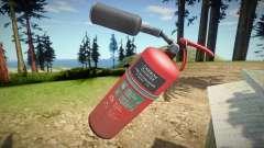 Remastered Fire extinguisher para GTA San Andreas