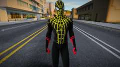 Black And Gold Suit Spiderman: No Way Home para GTA San Andreas